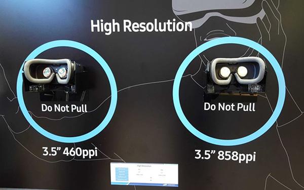 Новый экран Samsung для гарнитур VR характеристики