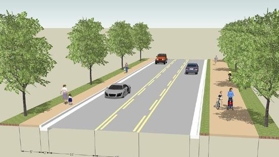 Orlando Sentinel: Denning Drive In Winter Park To Lose Lanes, Gain Bike Path