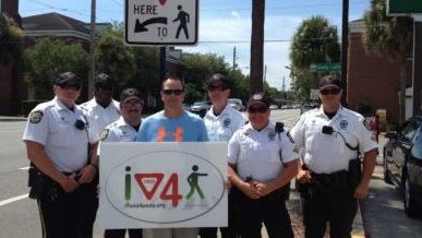 Orlando Police Department Rewards Good Walking & Driving Behavior