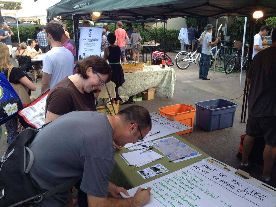 Corrine Drive More Bike-Friendly, Walkable? – $15K Grant Project Seeks Answers From Community