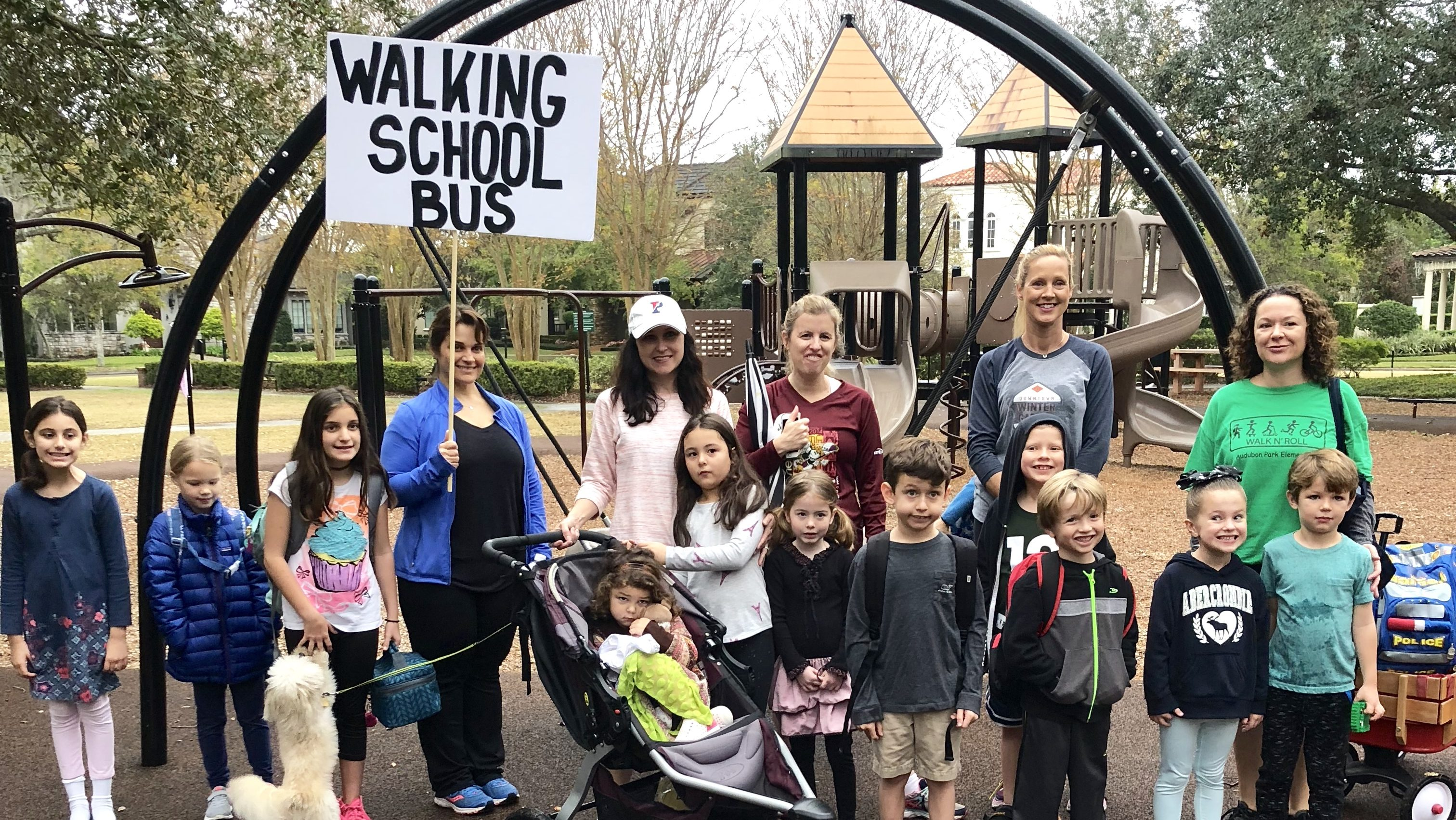 No Wheels Necessary: Starting Your Own Walking School Bus
