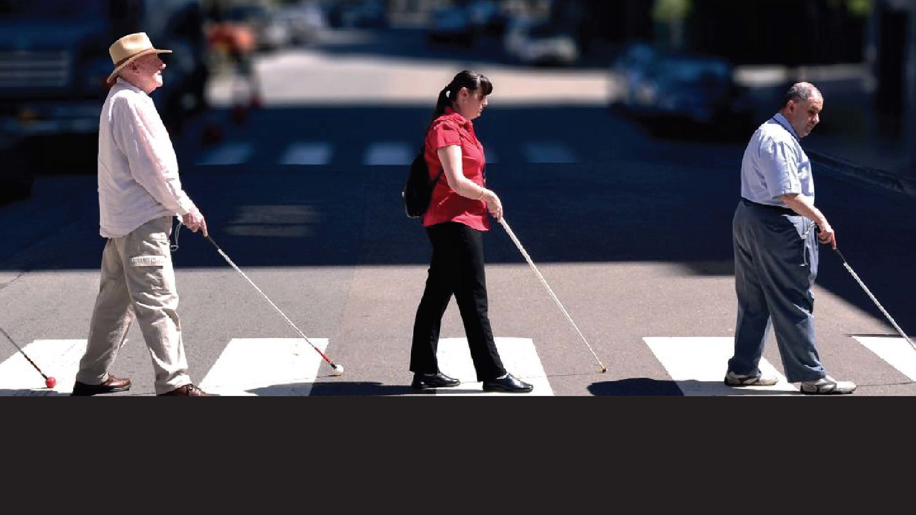 UPDATE: Crossing The Street Blindfolded Gives People New Perspective On Pedestrian Safety