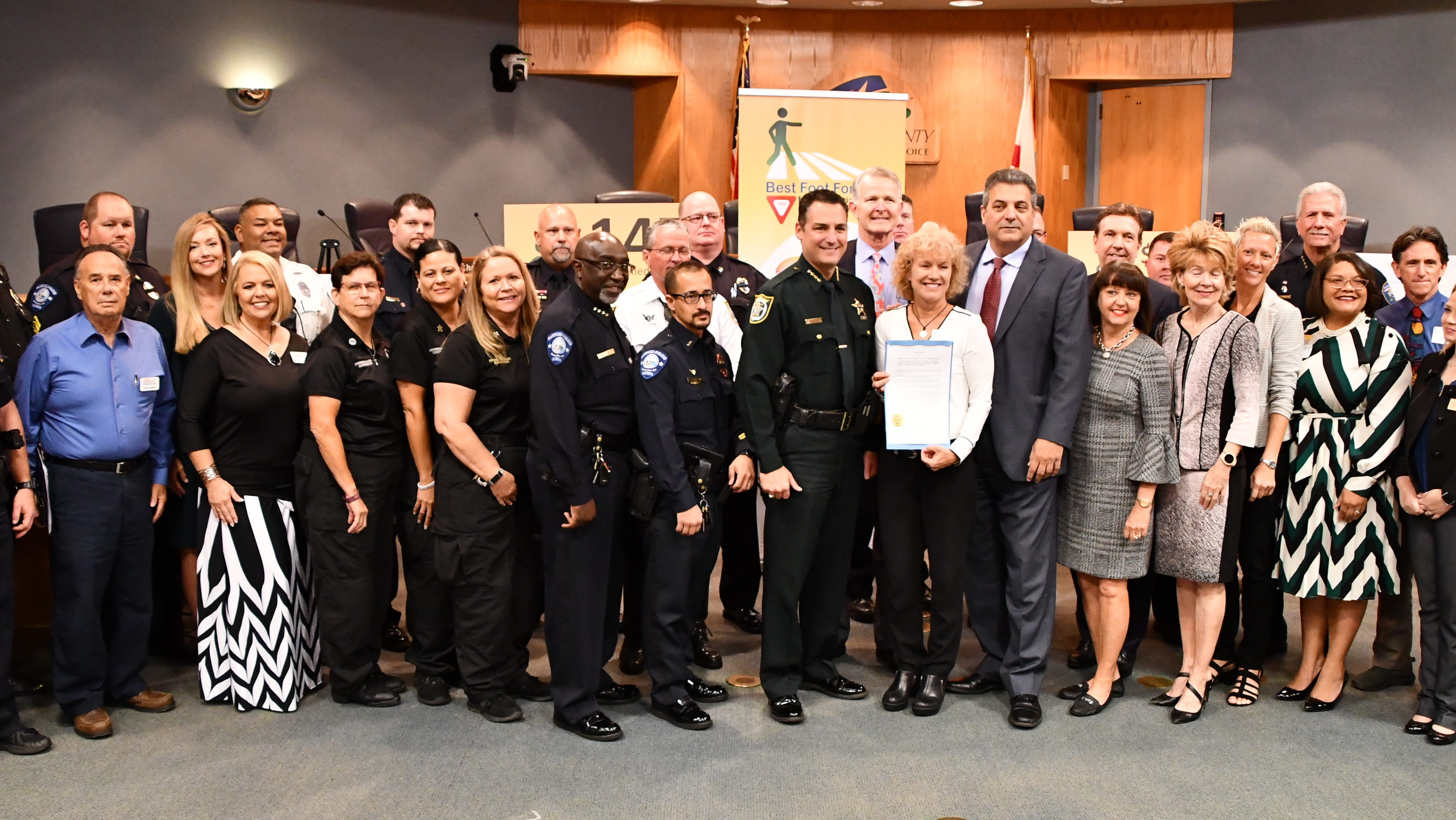 Teamwork Was The Central Message As Best Foot Forward Launched In Seminole County