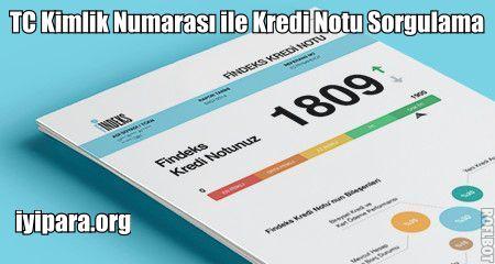 TC Kimlik Numarası ile Kredi Notu Sorgulama