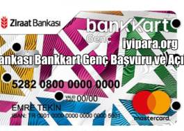 Ziraat Bankası Bankkart Genç Başvuru ve Açıklama