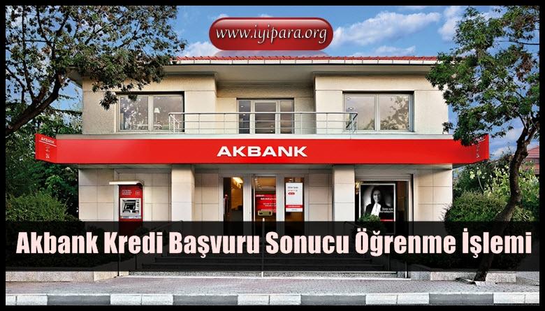 Akbank Kredi Başvuru Sonucu Öğrenme İşlemi