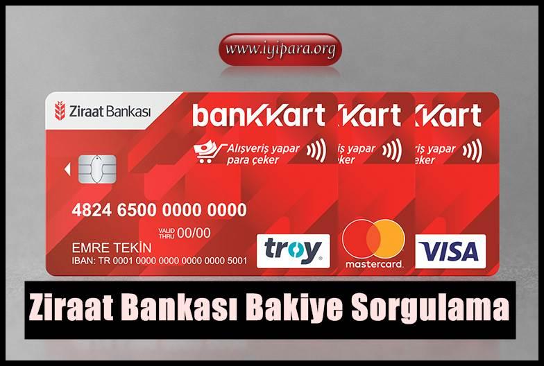 Ziraat Bankası Bakiye Sorgulama (En Hızlı Yöntem)