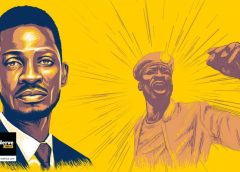 Bobi Wine Features in The Nerve Africa Yellow Wall