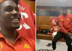 Odion Ighalo and Paul Pogba dancing to a Wizkid song in Manchester United's dressing room [ARTICLE]