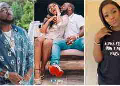 REVEALED: Chioma Begged Davido To Sign May D