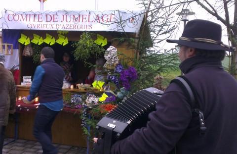 Marché de Noël traditionnel - Crédit photo izart.fr