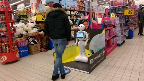 Robot Pepper - Crédit photo izart.fr