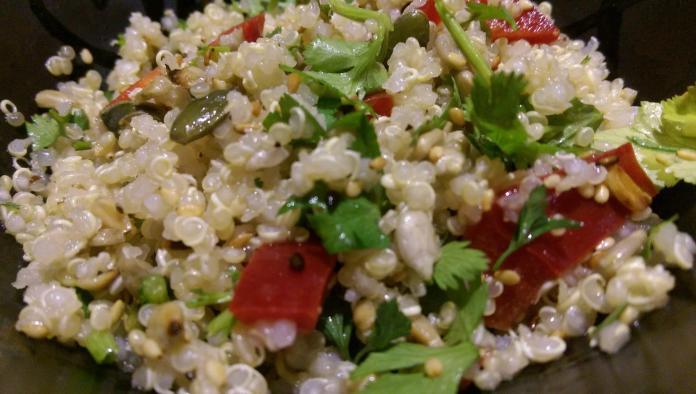 Recette N°79 - Quinoa noisettes et tomates séchées - Crédit photo izart.fr