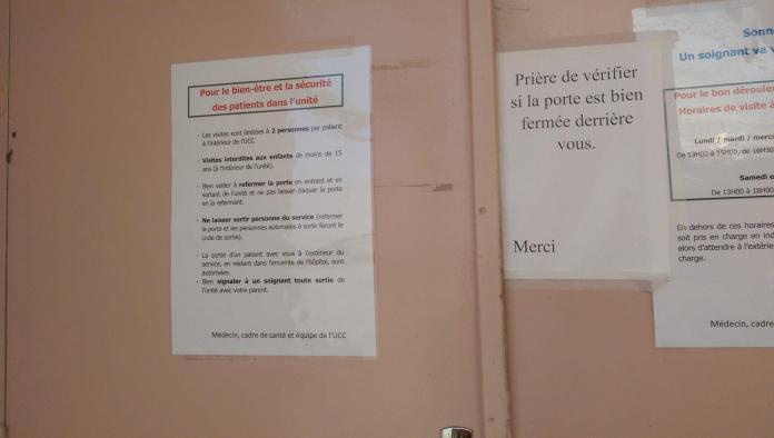 Papi, souris, t'es filmé fais pas la grimace - Crédit photo izart.fr