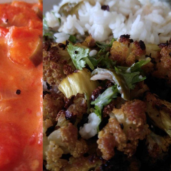 Recette N°137 - Chou-fleur rôti au Vadouvan et curry coco