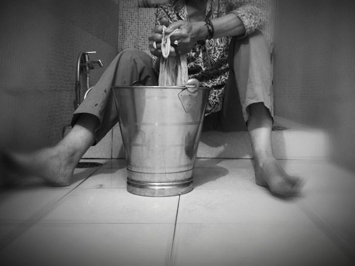 Après Cosette en Inde vive le confort du lave linge - Crédit photo izart.fr