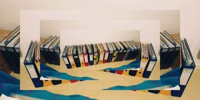 Moi mes 700 pochettes et 23 classeurs - Crédit photo izart.fr