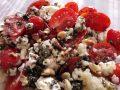 Recette N°179 - Millet aux tomates feta et cacahuètes - Crédit photo izart.fr
