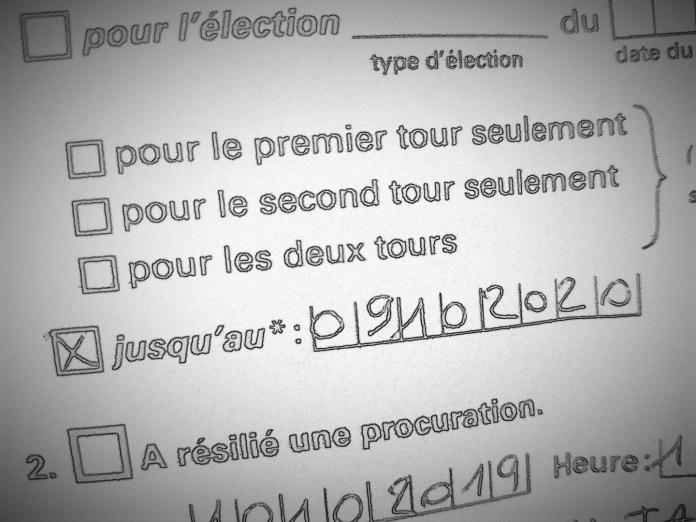 Procuration c'est parti - Crédit photo izart.fr