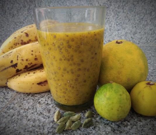 Recette N°186 - Smoothie fruits épices et chia - Crédit photo izart.fr