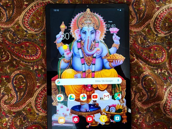 Ma nouvelle tablette Samsung Galaxy - Crédit photo izart.fr