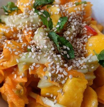 Recette N°209 - Salade des 4 couleurs - Crédit photo izart.fr
