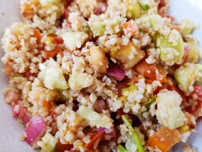 Recette N°235 - Taboulé sans gluten - Crédit photo izart.fr