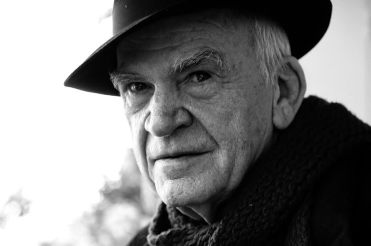 TO GO WITH AFP STORY BY SOPHIE PONS This handout picture released by French publishing house Gallimard shows Czech-born writer Milan Kundera on February 19, 2009 in Brno, a Moravian city, 200 kms from Prague. Czech-born writer Milan Kundera, 80, turned his back on his homeland once again when he failed to show up at a major conference on his work this weekend, May-30-31, 2009, in his southern home city of Brno- and said he's a 'French writer'. AFP PHOTO/HO/GALLIMARD/ NO SALES/NO ARCHIVE/RESTRICTED TO EDITORIAL USE