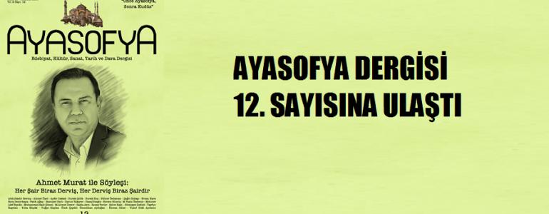 ayasofya dergisi