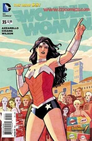 Leer Wonder woman New 52