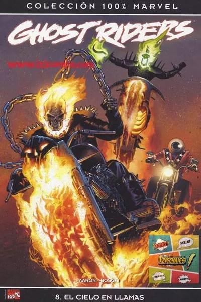 Marvel Comics Ghost Rider El Cielo en llamas