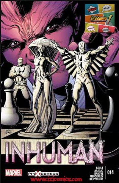Leer Comics Inhuman Vol-1