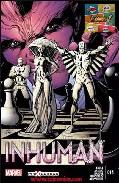 Leer Comics Inhuman Vol-1
