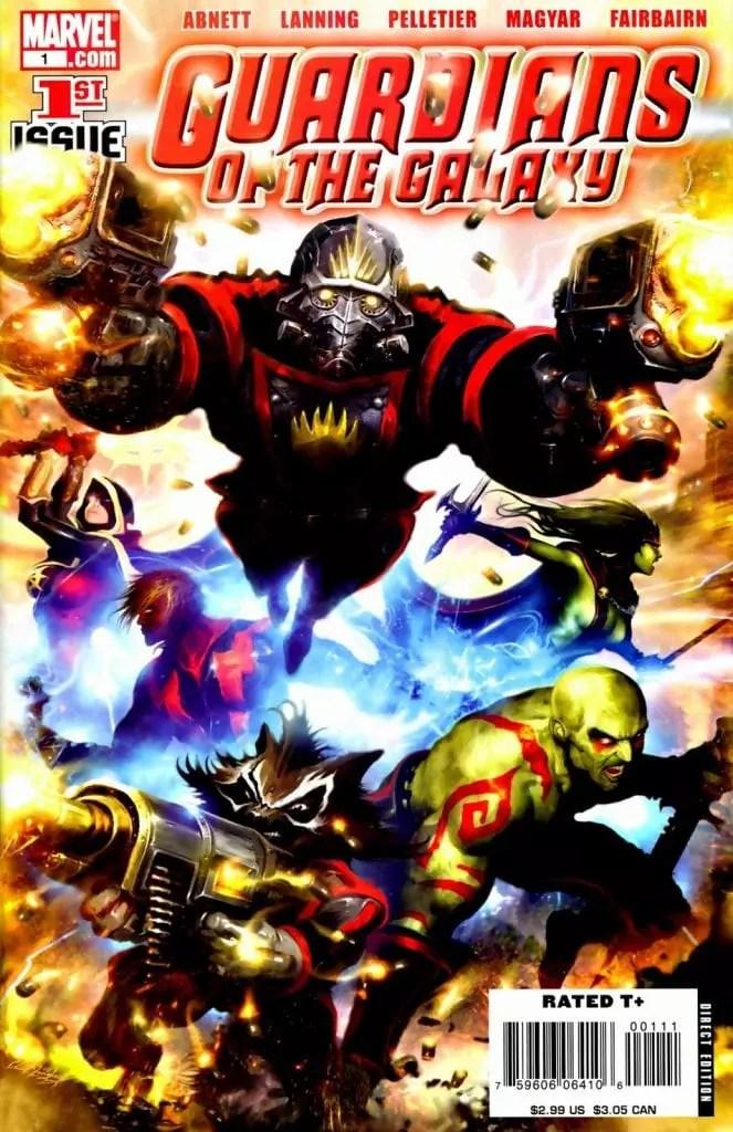 Guardianes de la galaxia Vol-2