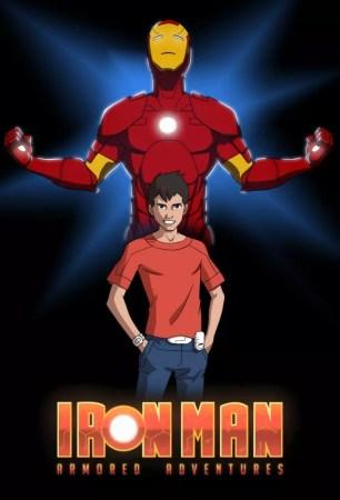 Serie Animada Iron Man Armored Adventure