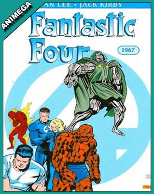 Serie Animada Los Cuatro Fantasticos 1970