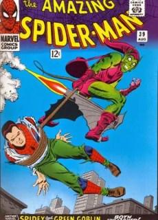 Spider-Man desenmascarado por el Duende Verde