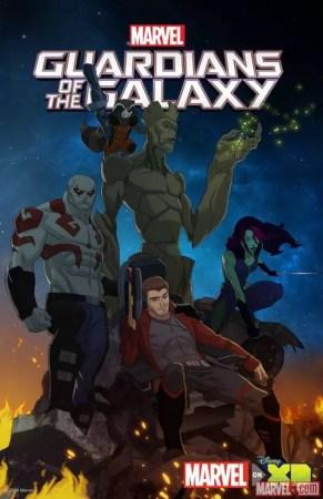 Serie Animada Guardianes de la galaxia