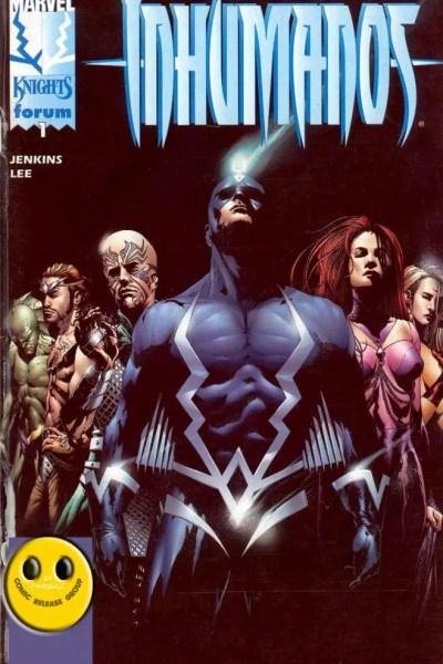 Ver Comic Inhumanos Vol 2