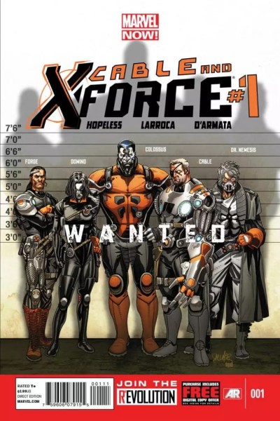Leer Comic Cable and X-Force