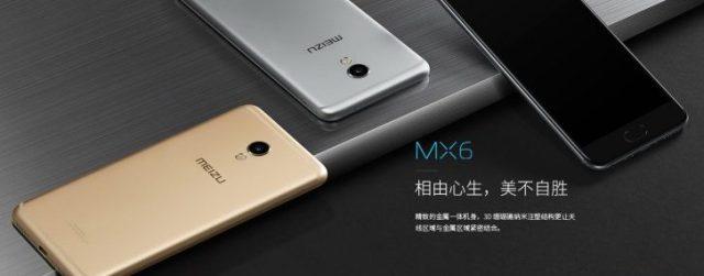 Meizu X6 1)