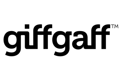 GiffGaff 500 mins & Unltd text with 3GB data for £106.82 (6m)