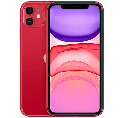 Apple iPhone 11 128GB Red Vodafone Mobile Contract