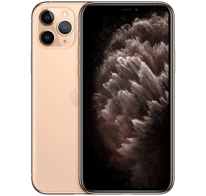 Apple iPhone 11 Pro Max Gold O2 Unltd Allowances for £0 (0m)