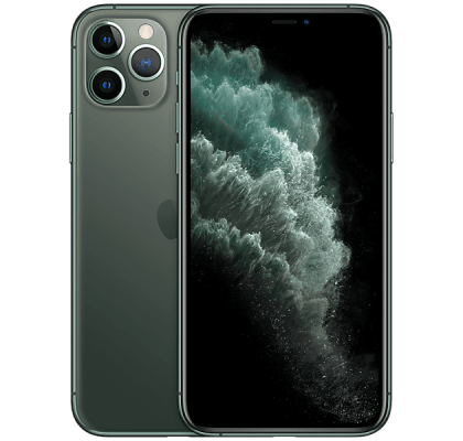 Apple iPhone 11 Pro Max Midnight Green Vodafone Unltd Allowances for £34 (24m)