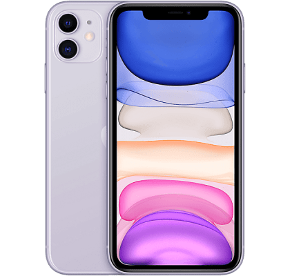Apple iPhone 11 Purple O2 Mobile Contract