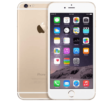 Apple iPhone 6 Gold Giff Gaff Contract