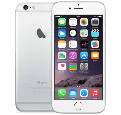 Apple iPhone 6 Silver O2 Mobile PAYG