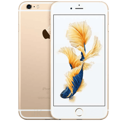 Apple iPhone 6S Gold Beauty and Hair