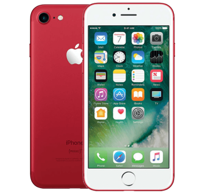 Apple iPhone 7 128GB Red Giff Gaff Contract